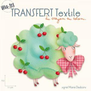 transfert-textile-mouton-cerises-signe-marie-desbons