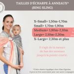 Tailles de ring sling